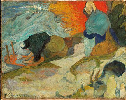Gauguin Laveuse à Arles 1888