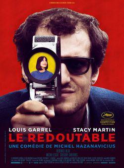 """Affiche du film """"Le Redoutable"""" (2017) de Michel Hazanavicius"""
