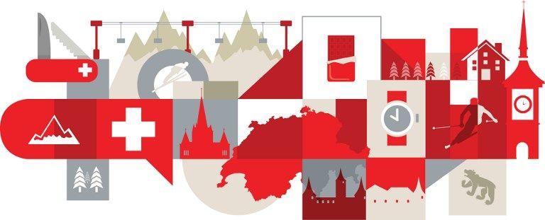 La croix suisse, véritable label économique, ouvre des marchés partout dans le monde