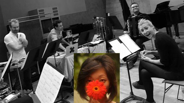 """"""" A/Z """" pour voix soliste et trois instruments de Diana Soh (1/5)"""