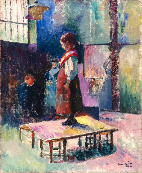 Henri Manguin La Petite Italienne, 1903 Huile sur toile, 61 x 50 cm Suisse, collection particulière