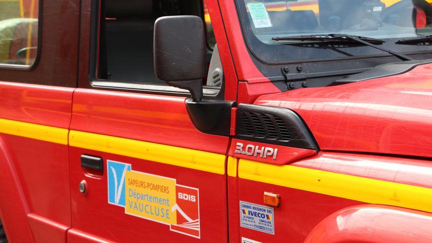 4x4 des pompiers de Vaucluse