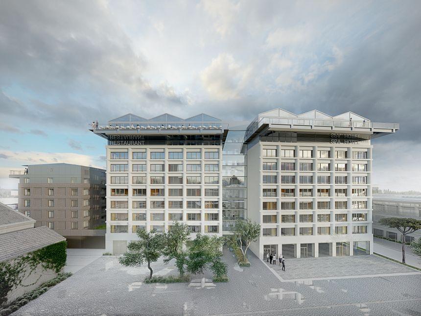 Cet hôtel de luxe de 8000 m² répond à la demande croissante des touristes étrangers en provenance de l'Asie, de l'Amérique ou du Moyen-Orient