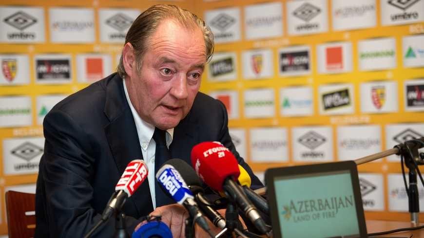 Gervais Martel est président du RC Lens depuis 1988, si l'on excepte la saison 2012-2013.
