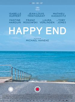 Affiche de Happy End de Michael Haneke, en salles le 4 octobre 2017