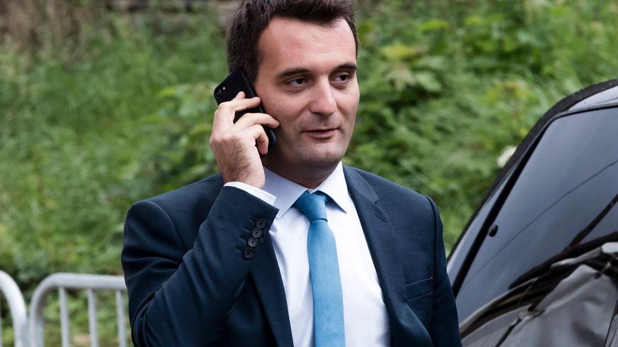 Florian Philippot a annoncé jeudi 21 septembre qu'il quittait le FN.