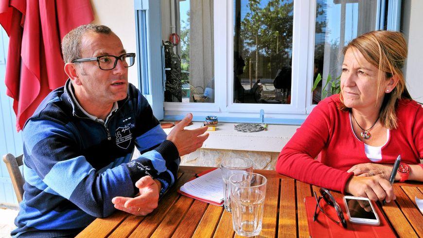 Éric et Nathalie Tronche, les parents de Lucas.