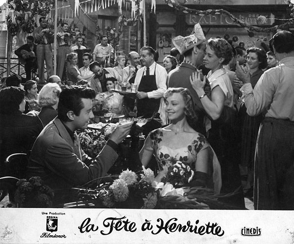 La fête à Henriette de Julien Duvivier (1952)