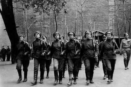 Soldats russes en 1917