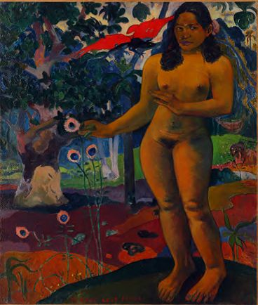 Gauguin Te nave fenua Terre délicieuse 1892