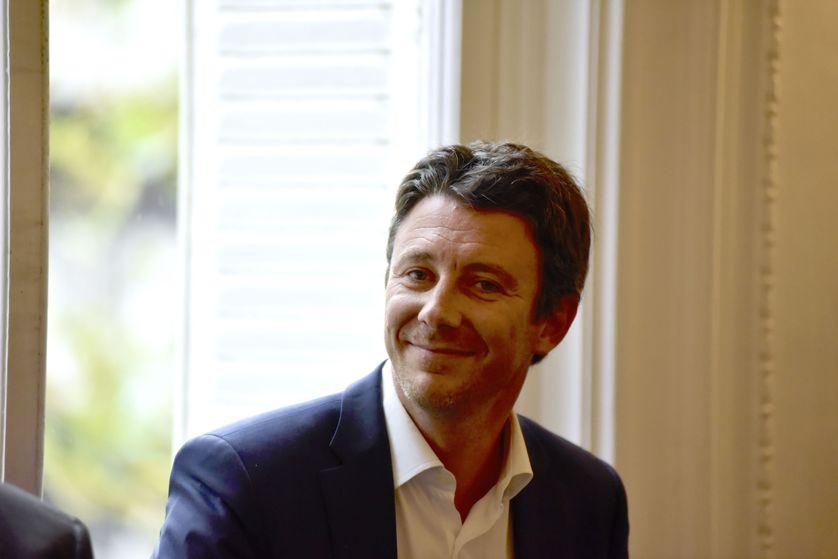 Le Secrétaire d'Etat Benjamin Griveaux  à Paris le 8 septembre 2017.