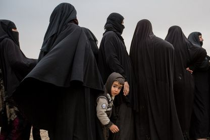 Enfant dans la banlieue de Mossoul en Irak