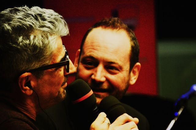 Christophe Mali (Tryo) et Didier Varrod