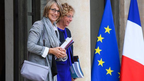 Françoise Nyssen, ministre de la Culture, à la sortie du conseil des ministres ce mercredi 27 septembre.