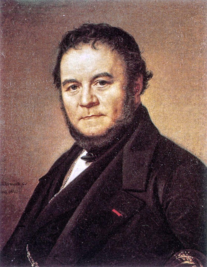 Marie-Henri Beyle, dit Stendhal (1783-1842), portrait exposé au Château de Versailles (1840)