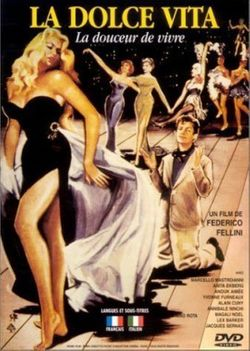 Jaquette DVD La dolce vita de Federico Fellini (1960)