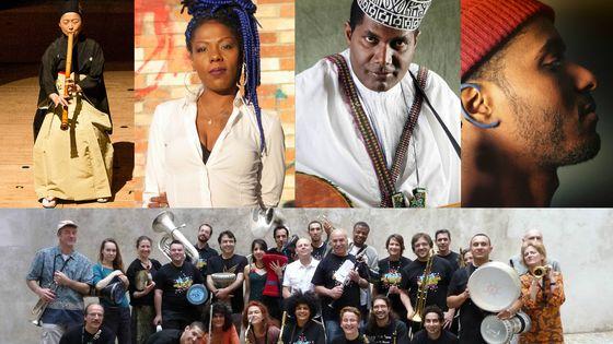 Katsura CreaSion; La Dame Blanche; Camel Zekri; Carlos Lopes; 93 Super Raï Band