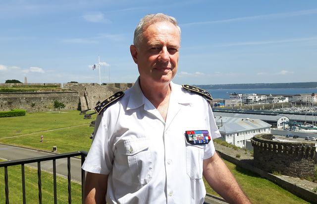 Emmanuel de Oliveira préfet maritime de l'Atlantique