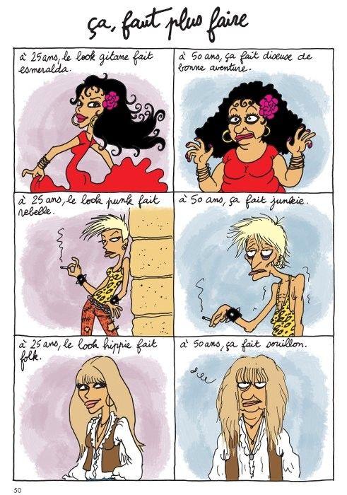 """Extrait de """"J'veux plus vieillir"""" d'Hélène Bruller (éditions Hugo-Desinge)"""