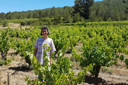Sophie Giraudon, viticultrice dans les Corbières
