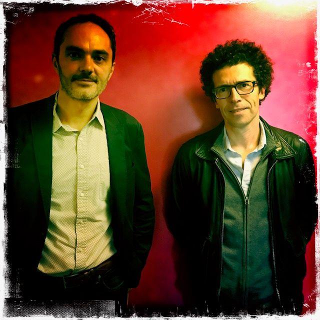 Yannick Barthe et Christophe Bataille