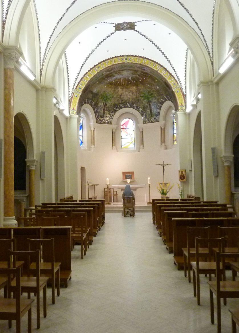 La Chapelle Franciscaines réparatrices de Jésus-Hostie