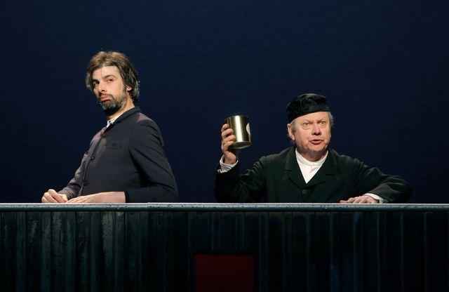 Bouvard et Pécuchet, au Théâtre de la Ville