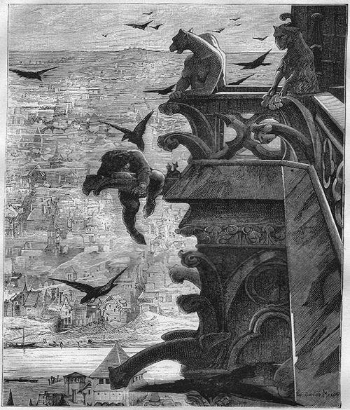 Victor Hugo 2 4 Notre Dame De Paris Un Roman Cathedrale