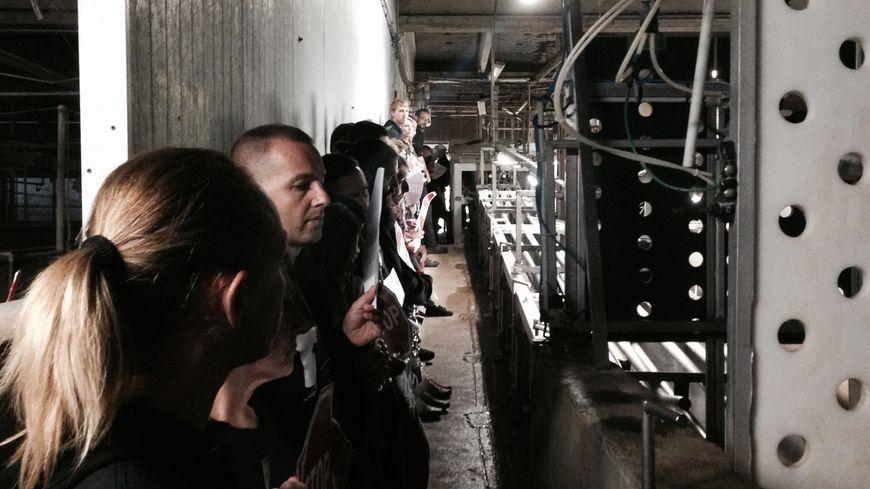 Près de 60 militants sont entrés dans l'abattoir de Fleury-les-Aubrais.