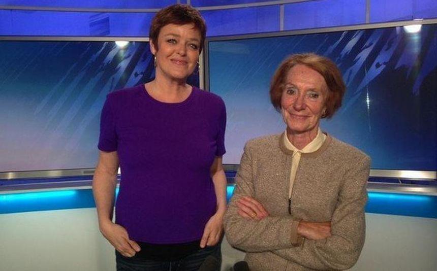 Christelle Massin et Clotilde Dumas, deux présentatrices réunies sur le plateau de France 3 Nord Pas-de-Calais