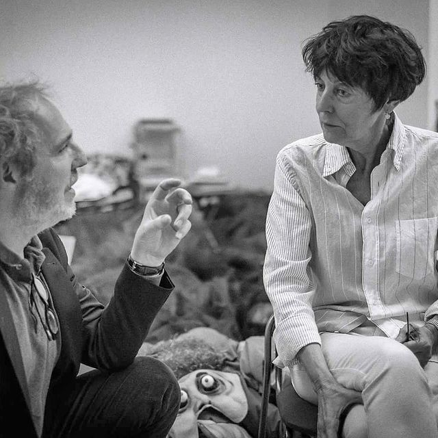 Arnaud Desplechin et Annette Messager