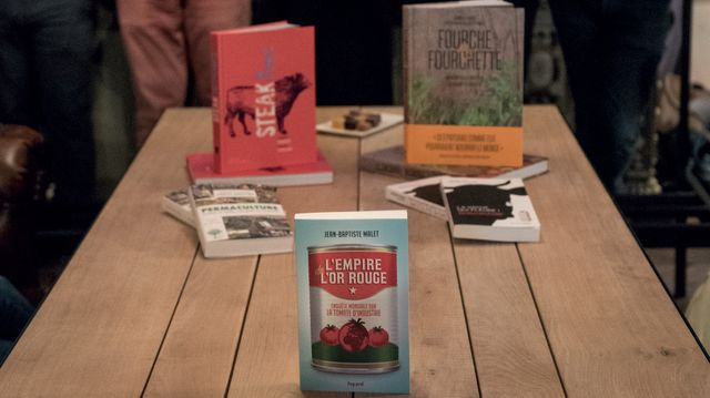 Les livres nommés et le lauréat