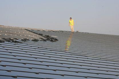Avant les panneaux photovoltaïques c'était comme ça, mais bientôt les édifices anciens auront des panneaux en forme de tuiles