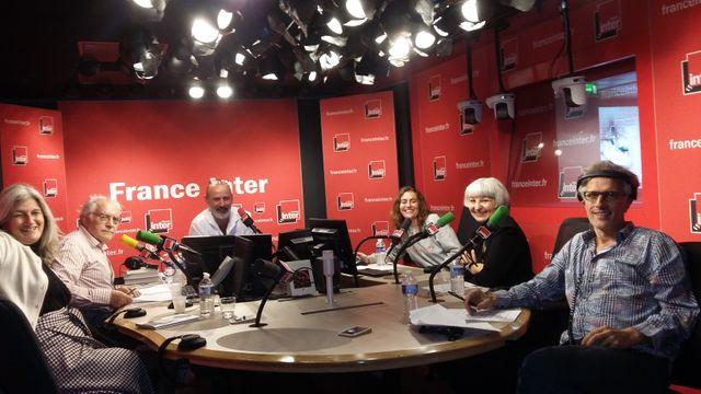"""""""Vous les Femmes"""". Sophie Fontanel, Albert Algoud, Daniel Morin, Guillemette Odicino, Bérénice Geoffroy-Schneiter et Hervé Pauchon. 17 sept. 2017"""