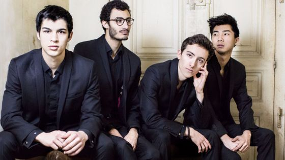 Quatuor Arod : Jordan Victoria, violon Alexandre Vu, violon Corentin Apparailly, alto Samy Rachid, violoncelle