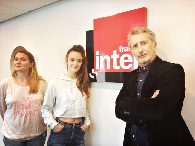 Charline Roux, Charlotte le Bon et Antoine De Caunes