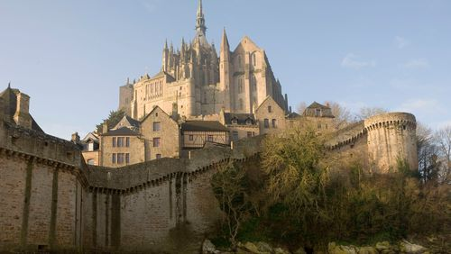 Prouesses architecturales du Mont-Saint-Michel
