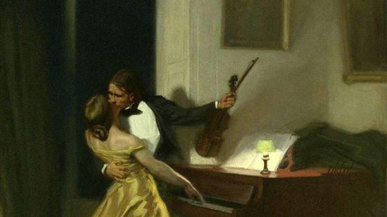 La toile La Sonate à Kreutzer, exécutée en 1901.
