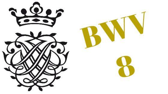 Monogramme de Bach - BWV 8