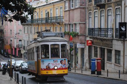 L'un des tramways, un classique de Lisbonne.