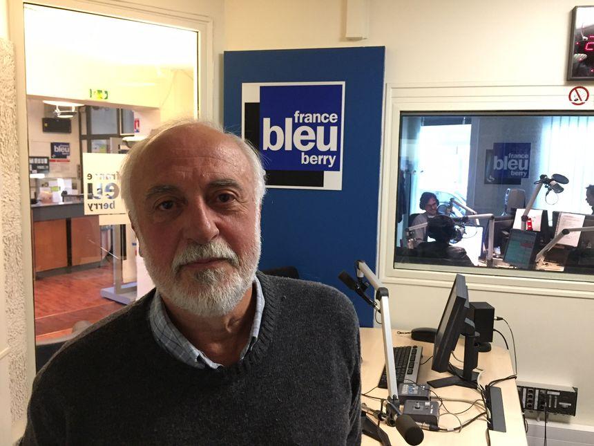 Jacques Lucbert, le Président d'Indre Nature.