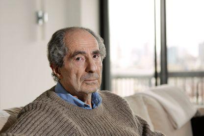 L'écrivain Philip Roth chez lui, en mai 2011 à New York
