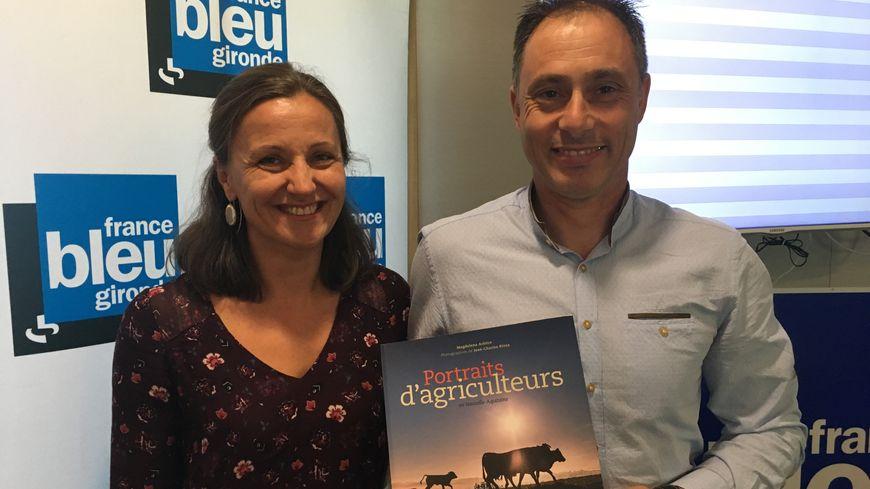 Magdelena Arbitre et Jean Charles Rivas signent ces Portraits d'Agriculteurs en Nouvelle Aquitaine édités par Sud Ouest