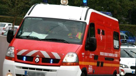 Les pompiers et la police de Belfort se sont très vite rendus sur les lieux de l'accident