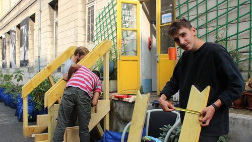 French friches (3/5) : Plateau Urbain : initiatives culturelles dans un ancien hôpital parisien
