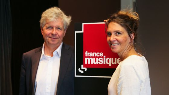 Stéphane Lissner et Elsa Boublil