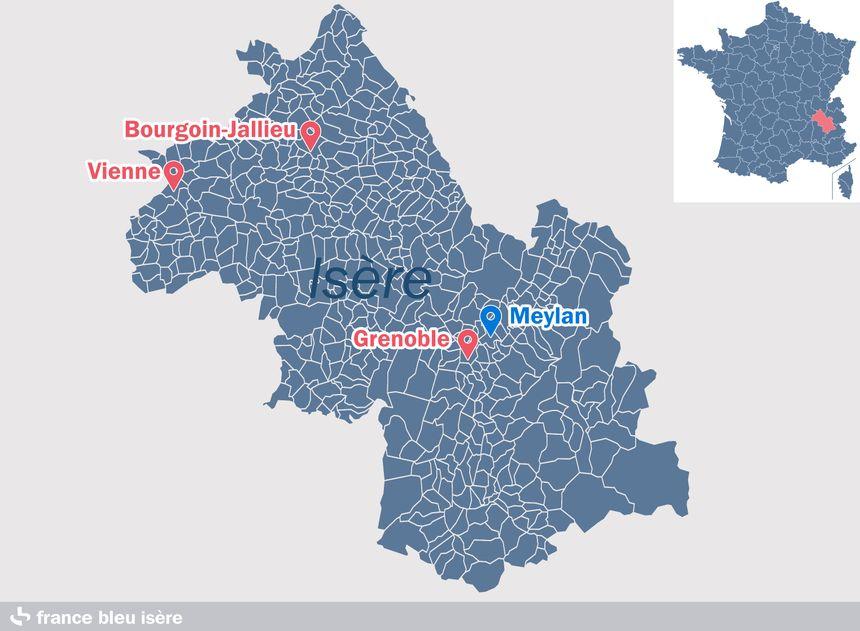 Meylan, dans la périphérie grenobloise - Radio France