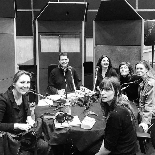 De gauche à droite : Marie Darrieussecq, Vincent Josse, Nelly Blumenthal, Jeanne Sarah Deledicq, Jeanne Susplugas et Anna Jean