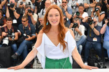 """Lætitia Dosch, présentation du film """"Jeune femme"""" au 70e festival de Cannes"""