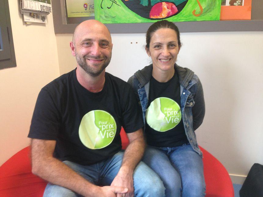 Laurent et Isabelle, les parents de Robin, soulagés que leur fils parte se faire soigner aux USA